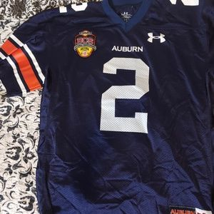 Can Newton Auburn National Championship Jersey